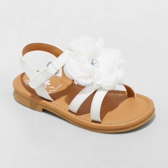 Flowers by Nina Other - Toddler Girls' Annabel Floral Ankle Strap Sandals